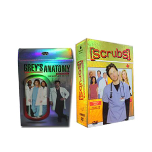 Grey's Anatomy Seasons 1-10 & Scrubs Seasons 1-9 DVD Boxset