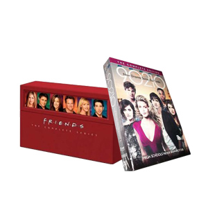 Friends Seasons 1-10 & 90210 Season 4 DVD Boxset