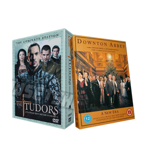 Downton Abbey Seasons 1-3 & The Tudors Seasons 1-4 DVD Boxset