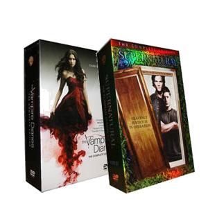 Supernatural Seasons 1-7 & The Vampire Diaries Seasons 1-3 DVD Boxset