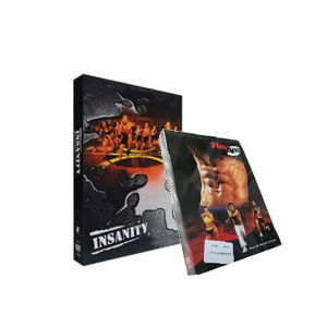 Insanity Workout is a 60 day total body & REV ABS Your 90-Day Ab Solution DVD Boxset