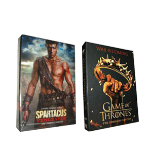 Game Of Thrones Season 2 & Spartacus: Vengeance Season 2 DVD Boxset