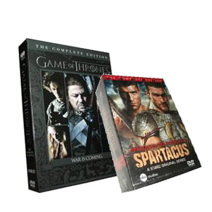 Game Of Thrones Seasons 1-2 & Spartacus DVD Collection DVD Boxset