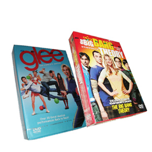 The Big Bang Theory Season 5 & Glee Season 3 DVD Boxset