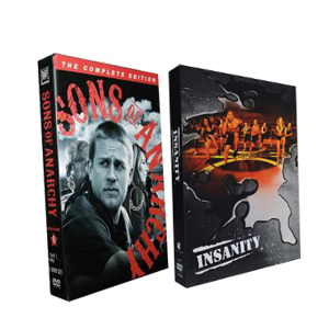 Sons of Anarchy Season 4 Insanity Workout is a 60 day total body DVD Boxset