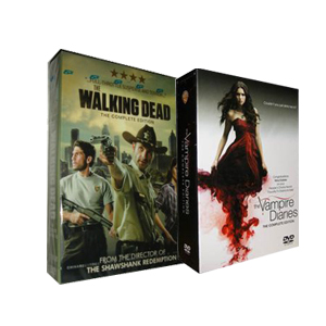 The Vampire Diaries Seasons 1-3 & The Walking Dead Seasons 1-2 DVD Boxset