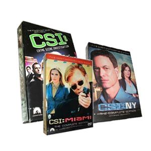 CSI Lasvegas Season 14 & CSI: NY Season 9 & CSI Miami Season 10 DVD Boxset