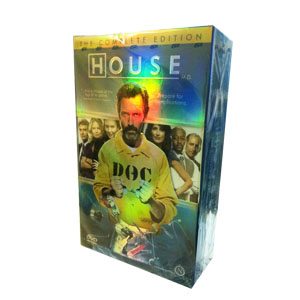 House MD Seasons 1-8 DVD Boxset