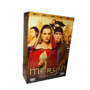 Merlin Seasons 1-5 DVD Boxset