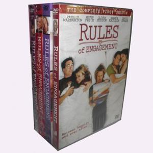 Rules of Engagement Seasons 1-4 DVD Boxset