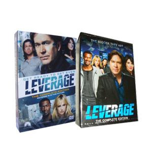 Leverage Seasons 1-5 DVD Boxset