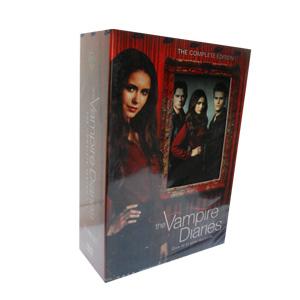 The Vampire Diaries Seasons 1-4 DVD Boxset