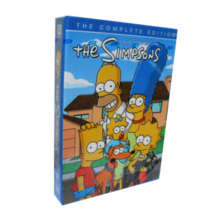 The Simpsons Season 24 DVD Boxset