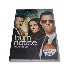 Burn Notice Season 6 DVD Boxset