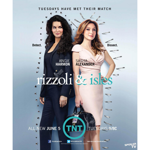 Rizzoli & Isles Seasons 1-3 DVD Boxset