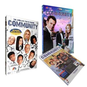 Community seasons 1-3 DVD Boxset