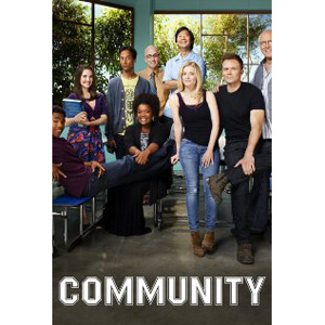 Community seasons 1-4 DVD Boxset