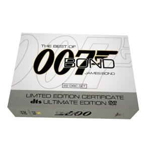 007 James Bond 22 Movie Complete Collection DVD Boxset