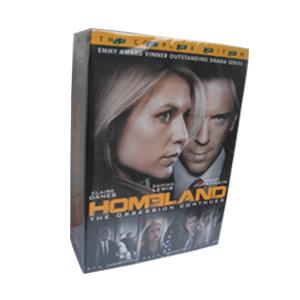 Homeland Seasons 1-3 DVD Boxset