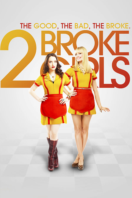 2 Broke Girls Seasons 1-3 DVD Boxset