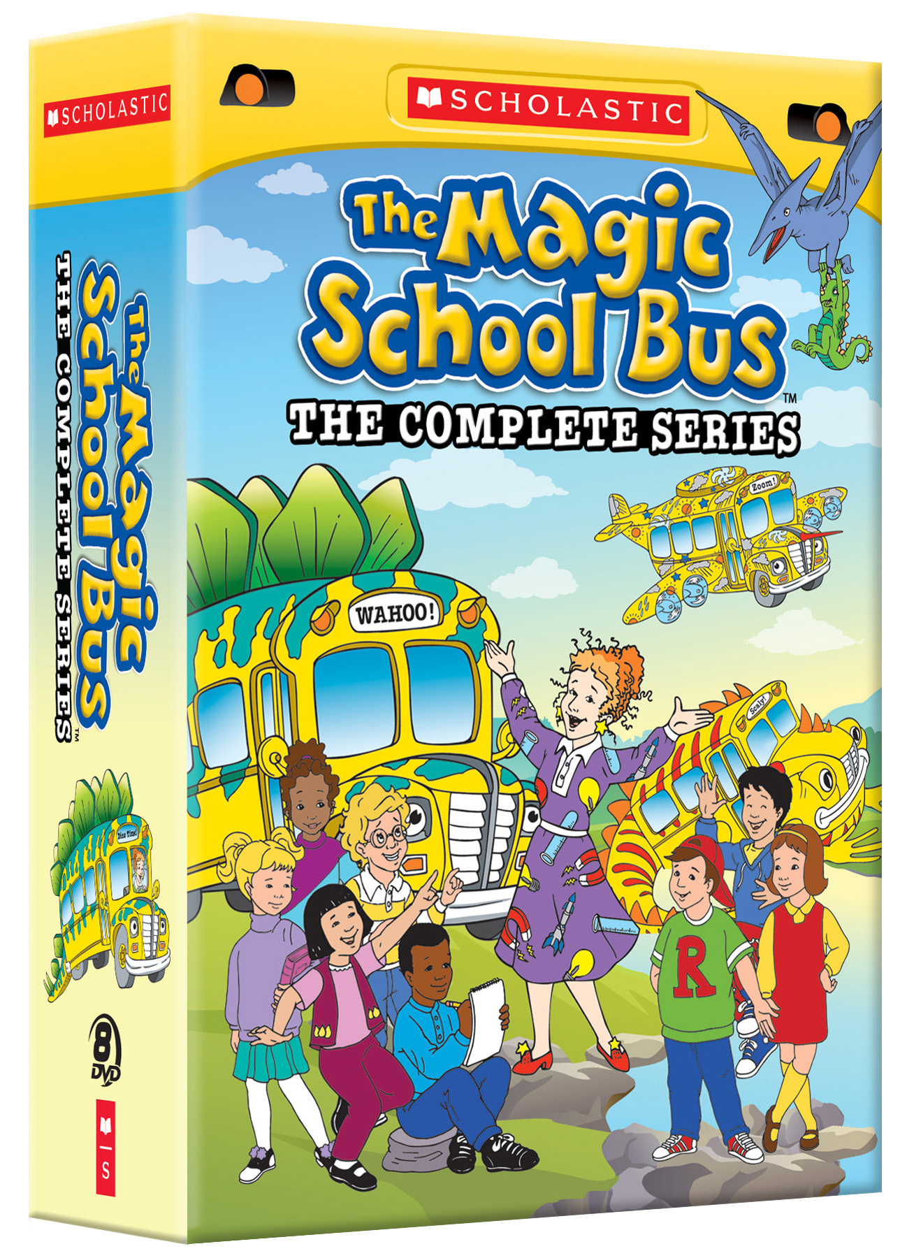 The Magic School Bus Complete Series 1-4 DVD Boxset