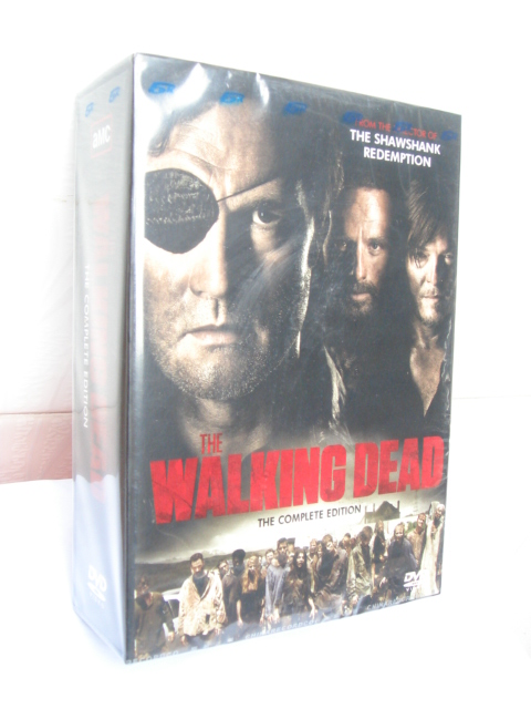 The Walking Dead Seasons 1-4 DVD Boxset