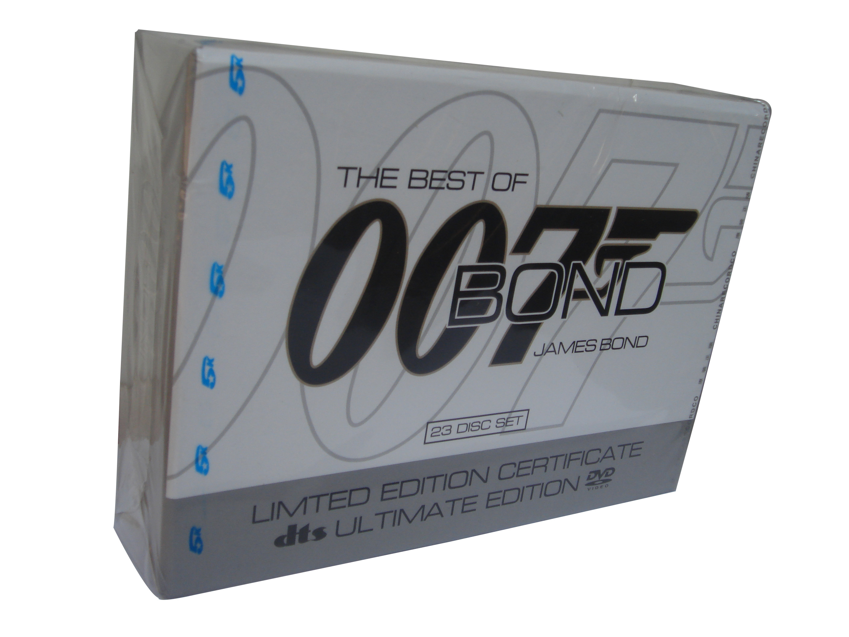 James Bond 007 Ultimate Collection 21DVD +6CD