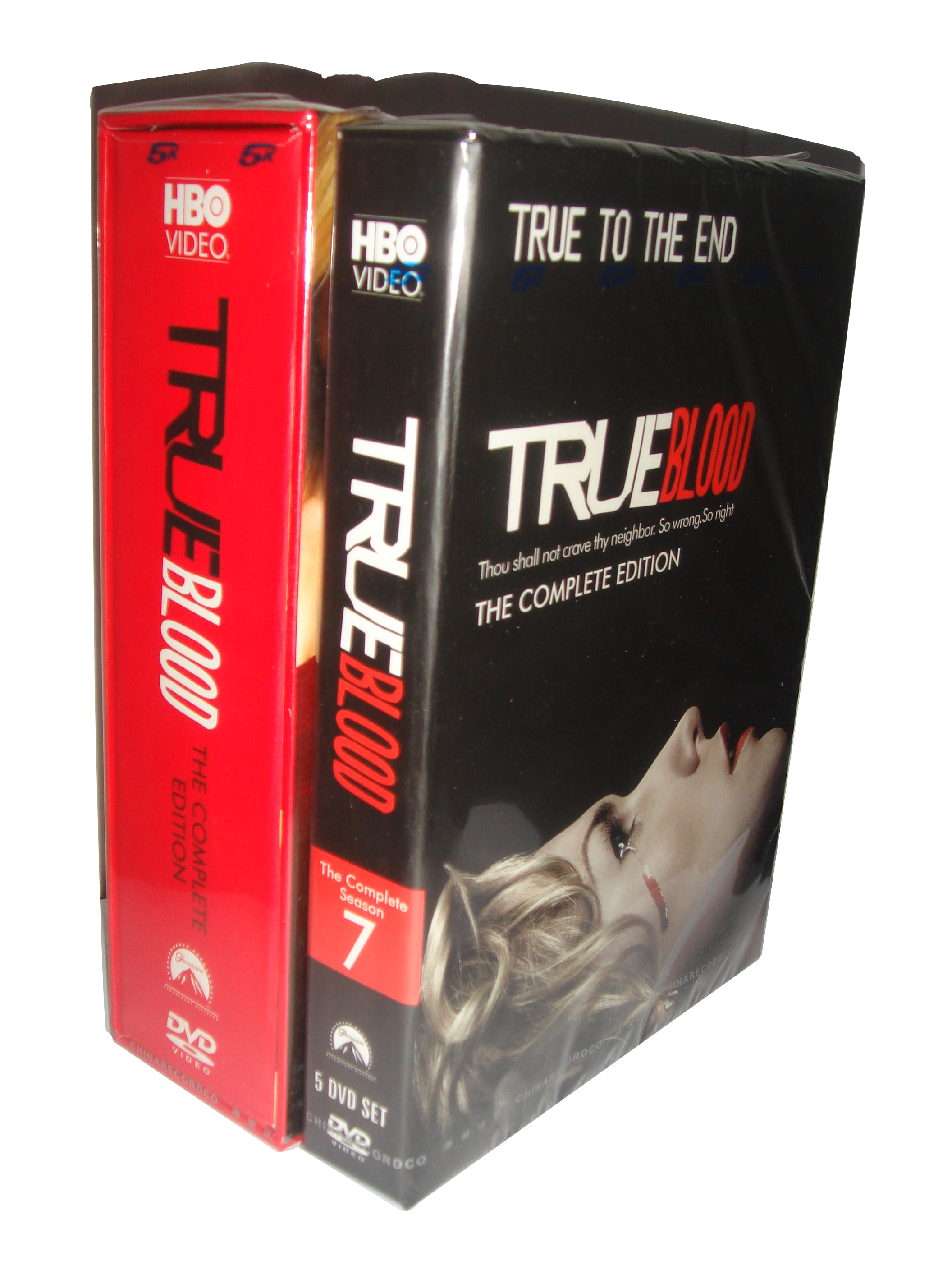 True Blood Seasons 1-7 DVD Boxset