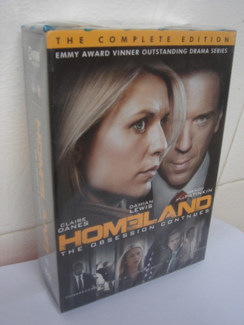 Homeland Seasons 1-4 DVD Boxset