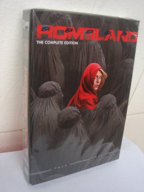 Homeland Seasons 4 DVD Boxset