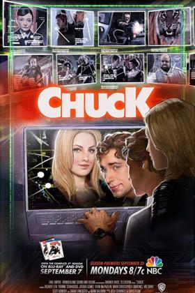 Chuck Seasons 1-4 DVD Boxset