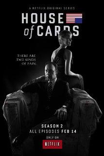 House of Cards Seasons 1-2 DVD Boxset