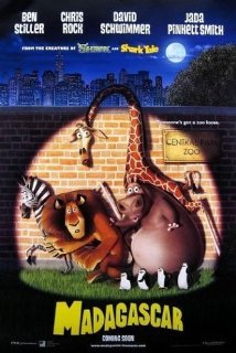 Madagascar Complete 1-3 DVD Boxset [Blu-ray]