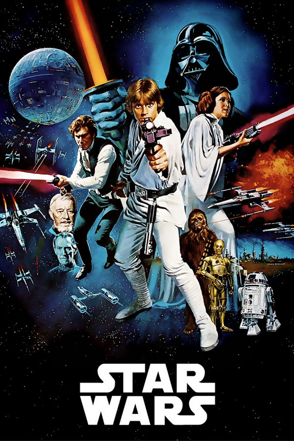 Star Wars Complete 1-6 Movie Series [D9]